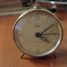 Despertadores antiguos: RELOJ DESPERTADOR DILLE, MADE IN GERMANY, NO FUNCIONA LEER. Lote 45397164