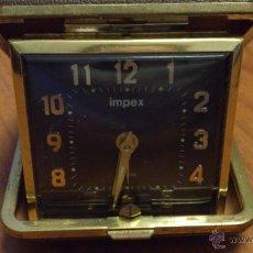Despertadores antiguos: RELOJ IMPEX. Lote 46447425
