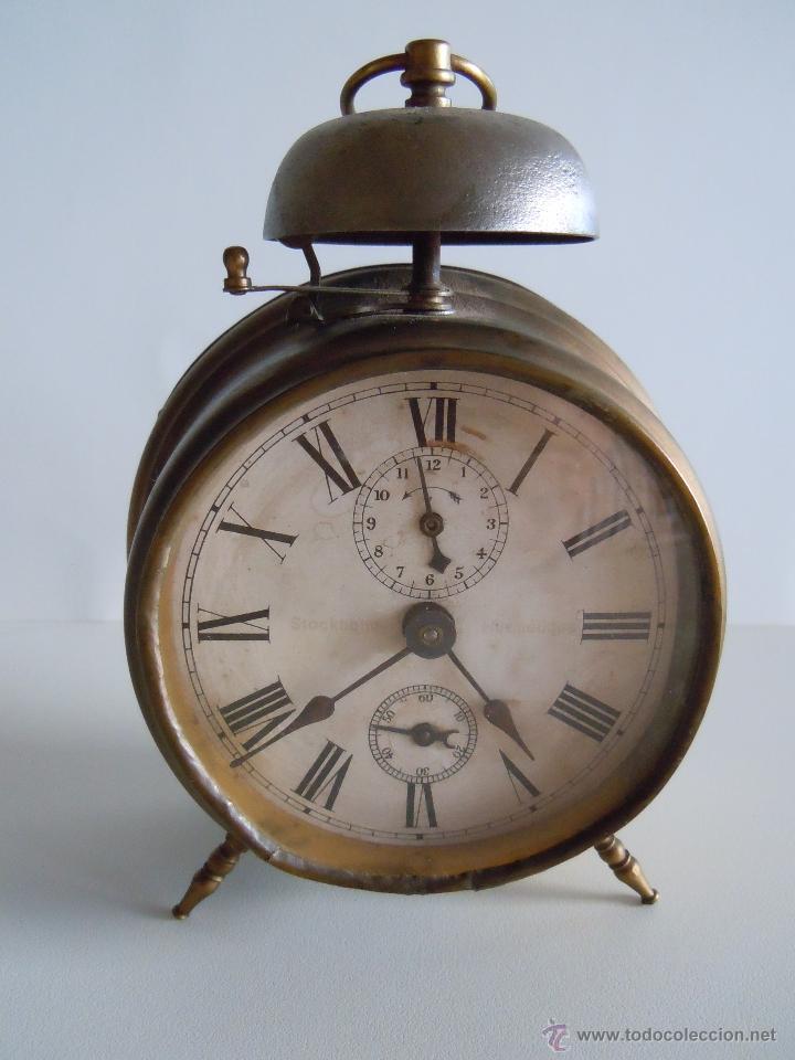 RELOJ DESPERTADOR CON CAMPANA (Relojes - Relojes Despertadores)
