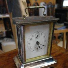 Despertadores antiguos: RELOJ DE CARRUAJE DESPERTADOR . Lote 46955928