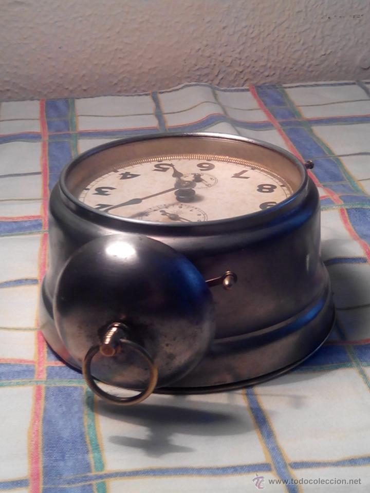 Despertadores antiguos: ANTIGUO DESPERTADOR DE CAMPANA - AÑOS 50 - FUNCIONANNDO. (TESTADO). DESCRIP. Y FOTOS INTER/EXTER. - Foto 11 - 47167548
