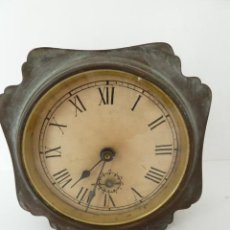 Despertadores antiguos: INUSUAL Y MUY DECORATIVO, RELOJ DESPERTADOR CARGA MANUAL JAPY FRERES. Lote 47446829