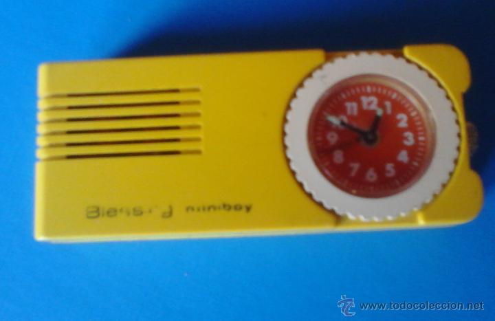 RELOJ DESPERTADOR MINIBOY (Relojes - Relojes Despertadores)