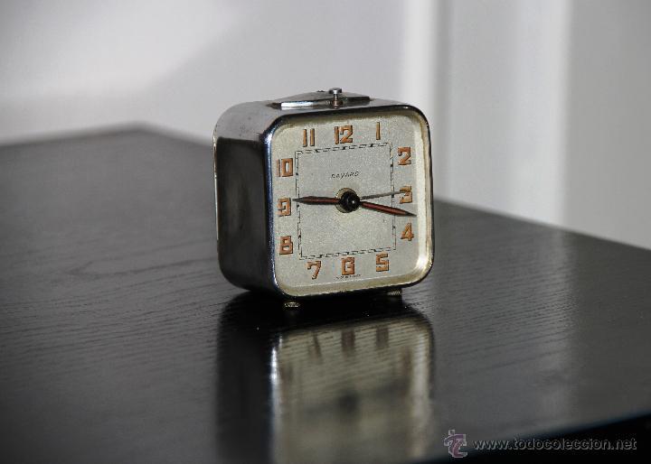 Antiguo Reloj Bayard Despertador Art Deco Vendido En Venta Directa