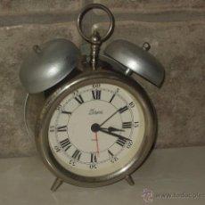 Despertadores antiguos: RELOJ DESPERTADOR DE SOBREMESA FERGER.. Lote 48006012