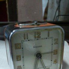 Despertadores antiguos: RELOJ DESPERTADOR MARCA BAYARD - MINIATURA 5,5 X 5,5 X 3,5 CM. .... Lote 48209281