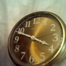 Despertadores antiguos: RELOJ DESPERTADOR DELUXE-GERMANY. Lote 48264797