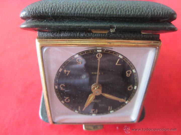 DESPERTADOR MARCA KAISER. CUADRADO (Relojes - Relojes Despertadores)