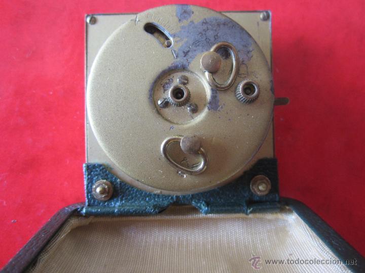 Despertadores antiguos: Despertador marca Kaiser. Cuadrado - Foto 2 - 39383269