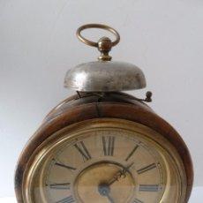 Despertadores antiguos: DESPERTADOR NÓRDICO CON REPETICIÓN DE ALARMA , SOBRE EL AÑO 1900. MUY DECORATIVO. Lote 48896770