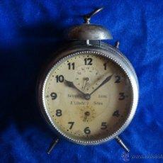 Despertadores antiguos - ANTIGUO DESPERTADOR JUNGHANS RELLOTGERIA SUISSA DE GIRONA - 32331805