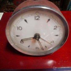 Despertadores antiguos: DESPERTADOR MICRO A CUERDA FUNCIONANDO. Lote 49599711