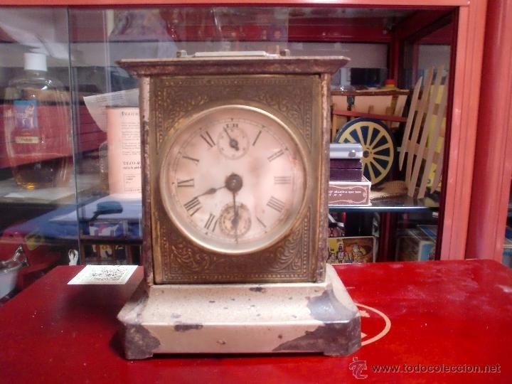 DESPERTADOR A CUERDA CON LLAVE PPCIPIOS 1900 (Relojes - Relojes Despertadores)