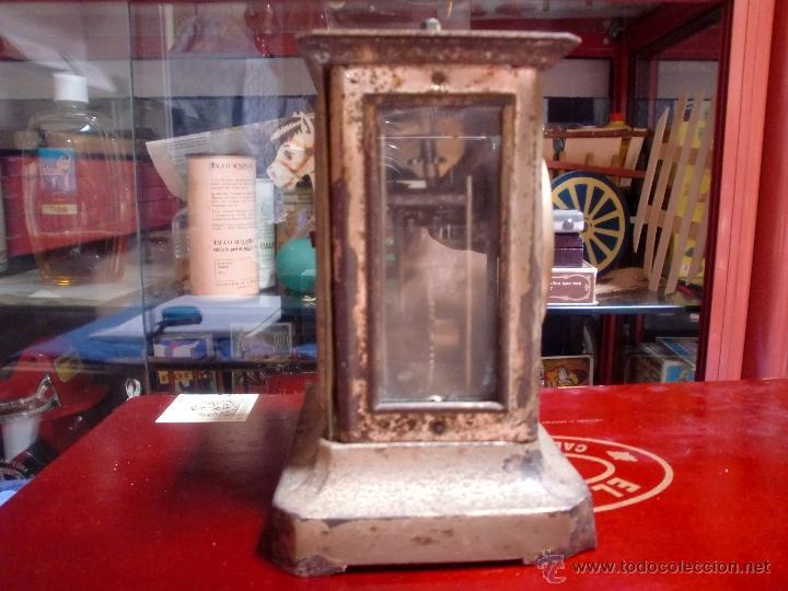 Despertadores antiguos: DESPERTADOR A CUERDA CON LLAVE PPCIPIOS 1900 - Foto 2 - 49599734