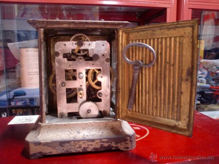 Despertadores antiguos: DESPERTADOR A CUERDA CON LLAVE PPCIPIOS 1900 - Foto 3 - 49599734