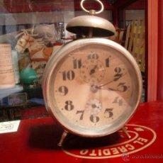 Despertadores antiguos: RELOJ DESPERTADOR MENTOR AÑOS 20. Lote 49599757