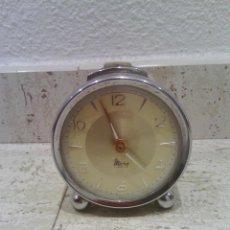 Despertadores antiguos: RELOJ DESPERTADOR MICRO 2 JEWELS. Lote 49620319