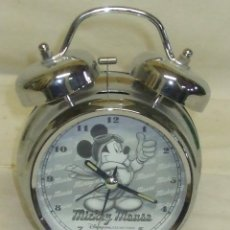 Despertadores antiguos: RELOJ DESPERTADOR MICKEY. Lote 49668599