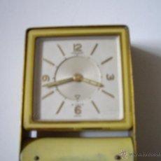 Despertadores antiguos: RELOJ JAEGER OCHO DIAS. Lote 49979953