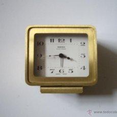 Despertadores antiguos: RELOJ DESPERTADOR SWIZA ELECTRONIC. Lote 49982787