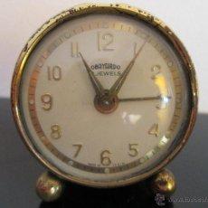 Despertadores antiguos - DESPERTADOR OBAYARDO 2 JEWELS MADE IN SPAIN - 50475016