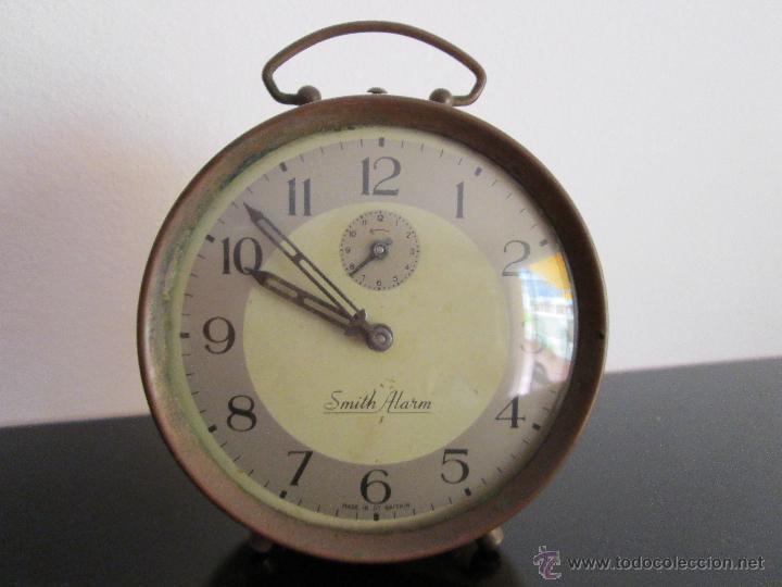SMITH ALARM MADE IN GT BRITAIN (Relojes - Relojes Despertadores)