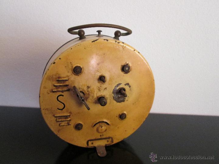 Despertadores antiguos: smith alarm made in gt britain - Foto 2 - 50667100
