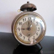 Despertadores antiguos: JUNGHANS GRAN Y ANTIGUO DESPERTADOR. Lote 50688879