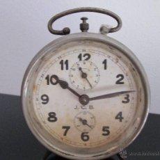 Despertadores antiguos: J.C.B. ANTIGUO DESPERTADOR . Lote 50716596