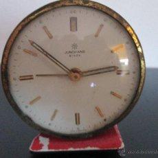 Despertadores antiguos: JUGHANS VIVOX MADE IN GERMANI. Lote 50764554