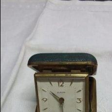 Despertadores antiguos: RELOJ DESPERTADOR DE VIAJE EUROPA - ANTIGUO - FUNCIONANDO. Lote 50819486
