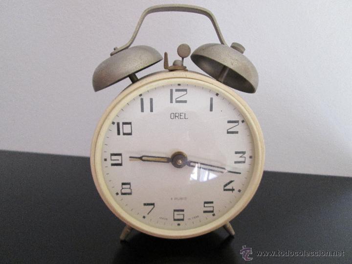 OREL DESPERTADOR MADE IN USSR FUNCIONANDO (Relojes - Relojes Despertadores)