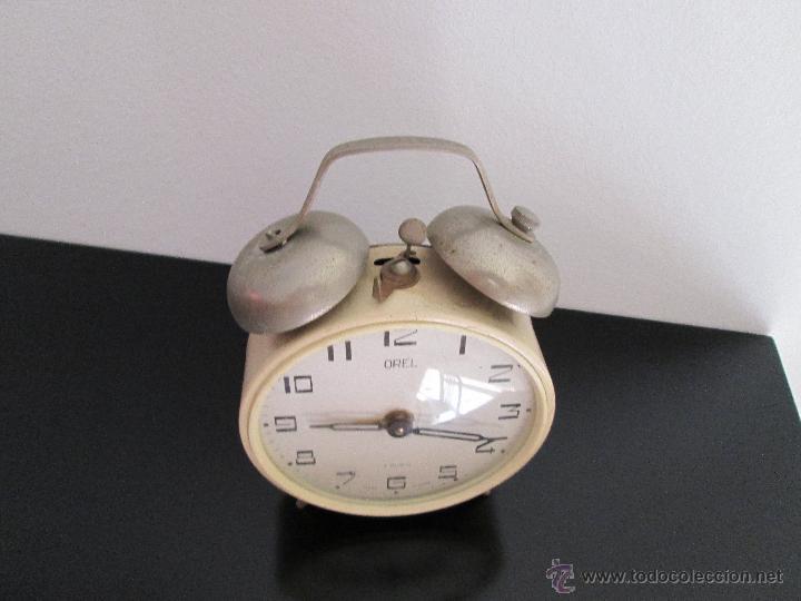 Despertadores antiguos: orel despertador made in ussr funcionando - Foto 2 - 218971337