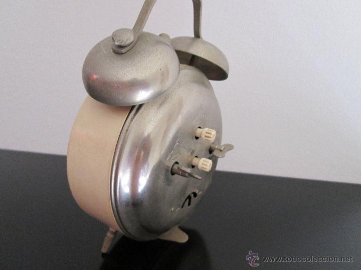 Despertadores antiguos: orel despertador made in ussr funcionando - Foto 3 - 218971337