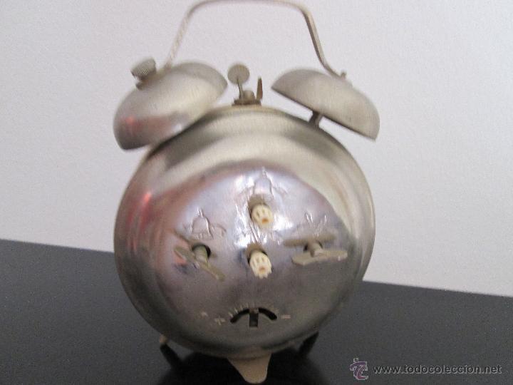 Despertadores antiguos: orel despertador made in ussr funcionando - Foto 4 - 218971337