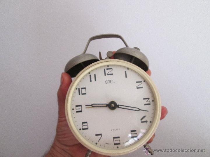 Despertadores antiguos: orel despertador made in ussr funcionando - Foto 5 - 218971337