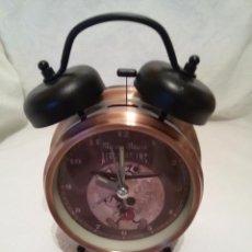 Despertadores antiguos: RELOJ DESPERTADOR MICKEY-FUNCIONA PERFECTAMENTE.. Lote 51181706