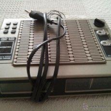Despertadores antiguos: RADIO RELOJ DESPERTADOR MARCA INTERNATIONAL AÑOS 80 EN BUEN ESTADO GENERAL. Lote 52006716