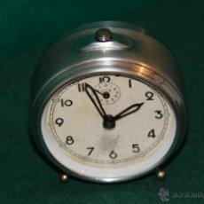 Despertadores antiguos: RELOJ DESPERTADOR FUNCIONANDO.. Lote 52125540