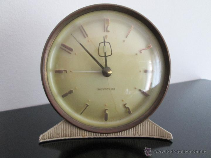 WESTCLOX MADE ESCOTLAN VEAN FOTOGRAFIAS (Relojes - Relojes Despertadores)