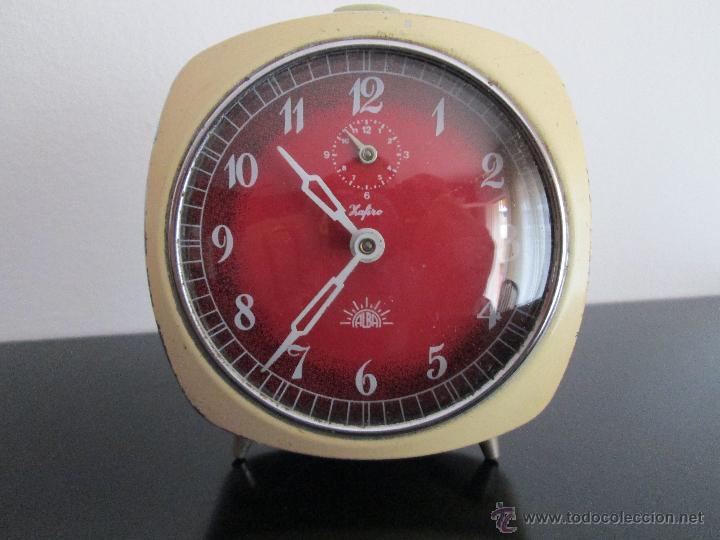 ALBA ZAFIRO FUCIONANDO (Relojes - Relojes Despertadores)