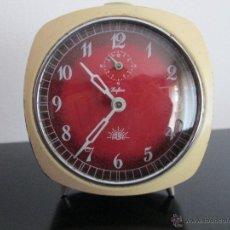 Despertadores antiguos: ALBA ZAFIRO FUCIONANDO. Lote 52155763
