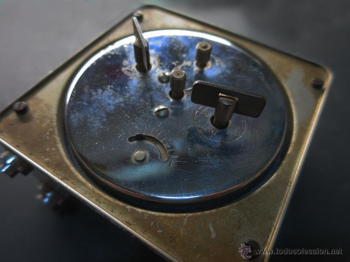 Despertadores antiguos: Reloj-despertador art-decó - Foto 2 - 27041044