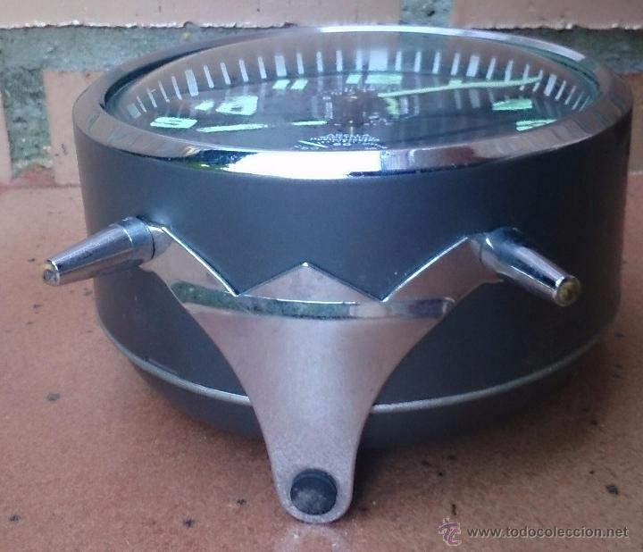 Despertadores antiguos: Reloj despertador alemán marca Wehrle Arella Repetition, made in Germany - Foto 3 - 52610487