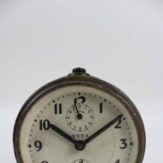 Despertadores antiguos - RELOJ DESPERTADOR META. FUNCIONANDO - 53118119