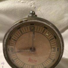 Despertadores antiguos: ANTIGUO RELOJ DESPERTADOR MARCA MICRA 57 DE LOS AÑOS 50 . Lote 53198662