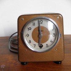 Despertadores antiguos: RELOJ DESPERTADOR HIBRIDO, MEHNE, ALEMANIA.. Lote 53242605