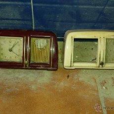 Despertadores antiguos: RELOJES TIPO RADIO. Lote 54007690
