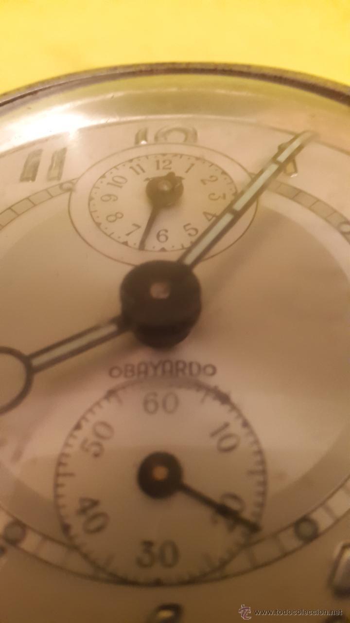 Despertadores antiguos: RELOJ DESPERTADOR OBAYARDO MADE IN SPAIN años 60 - Foto 3 - 54307389