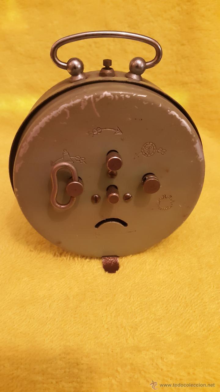 Despertadores antiguos: RELOJ DESPERTADOR OBAYARDO MADE IN SPAIN años 60 - Foto 4 - 54307389